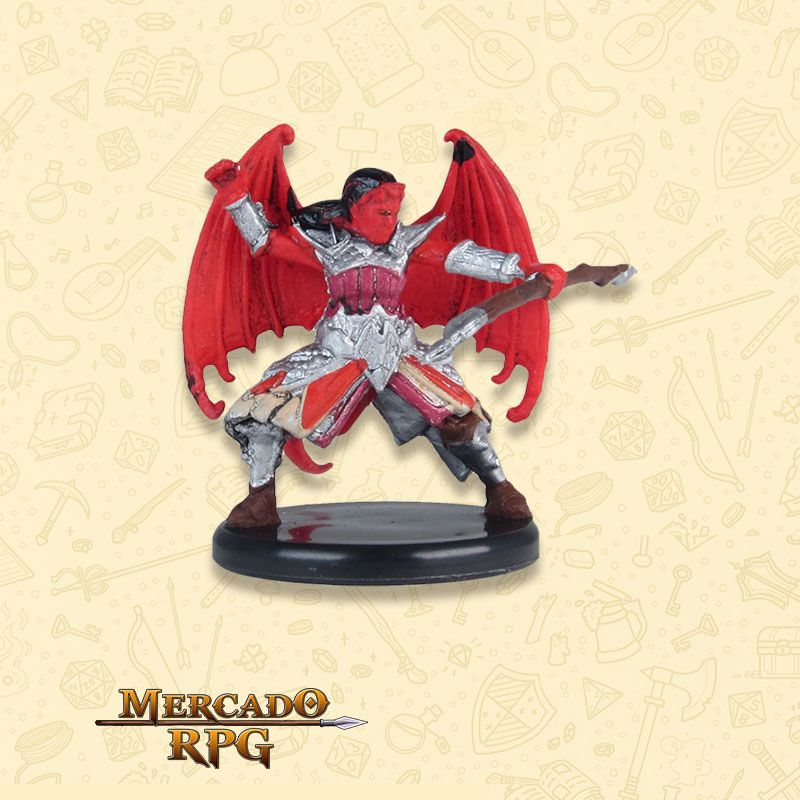 Cambion Devil A - Miniatura RPG  - Mercado RPG