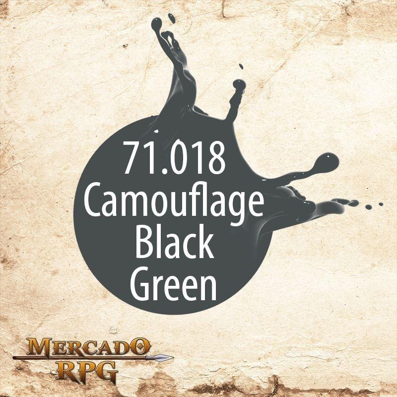 Camouflage Black Green 71.018  - Mercado RPG