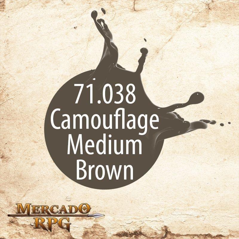 Camouflage Medium Brown 71.038  - Mercado RPG