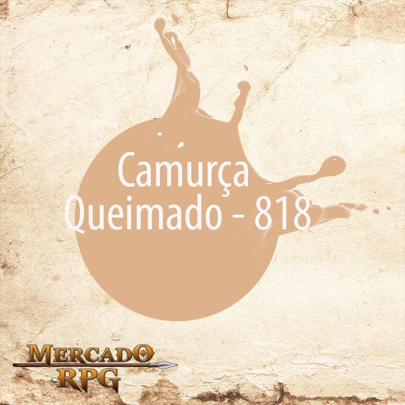 Camurça Queimado - 818  - Mercado RPG