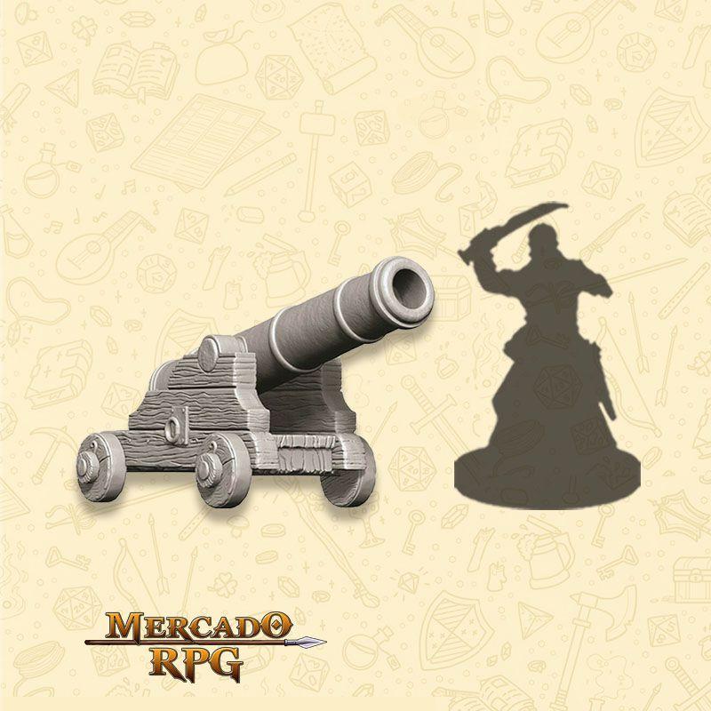 Cannon - Miniatura RPG  - Mercado RPG