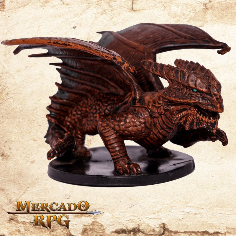 Capricious Copper Dragon  - Mercado RPG