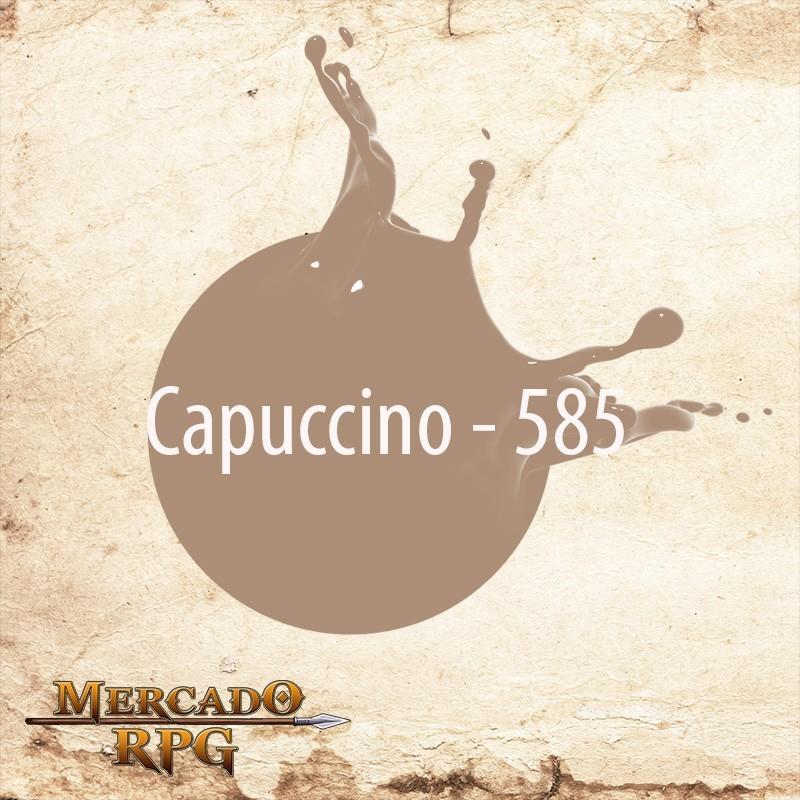 Capuccino 585 - Tinta Acrílica Fosca Nature Colors 60ml - Acrilex - RPG