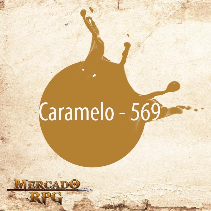 Caramelo 569 - Tinta Acrílica Fosca Nature Colors 60ml - Acrilex - RPG