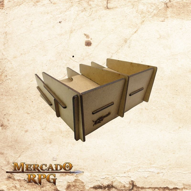 Card Tray - Mercado RPG