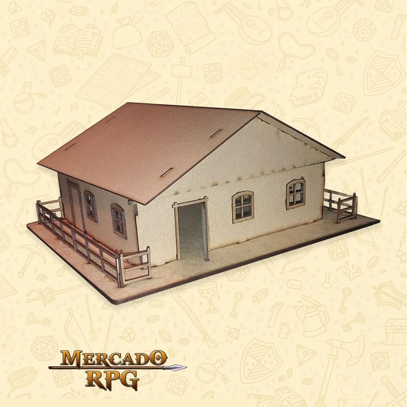 Armazém - Cenários MDF - RPG