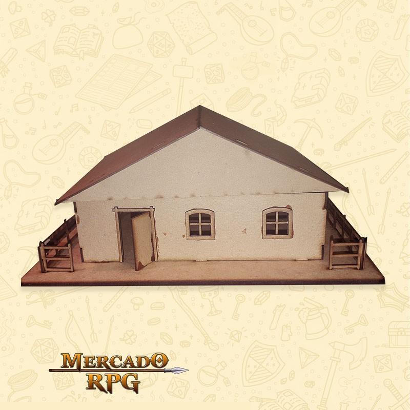 Armazém - Cenários MDF - RPG  - Mercado RPG