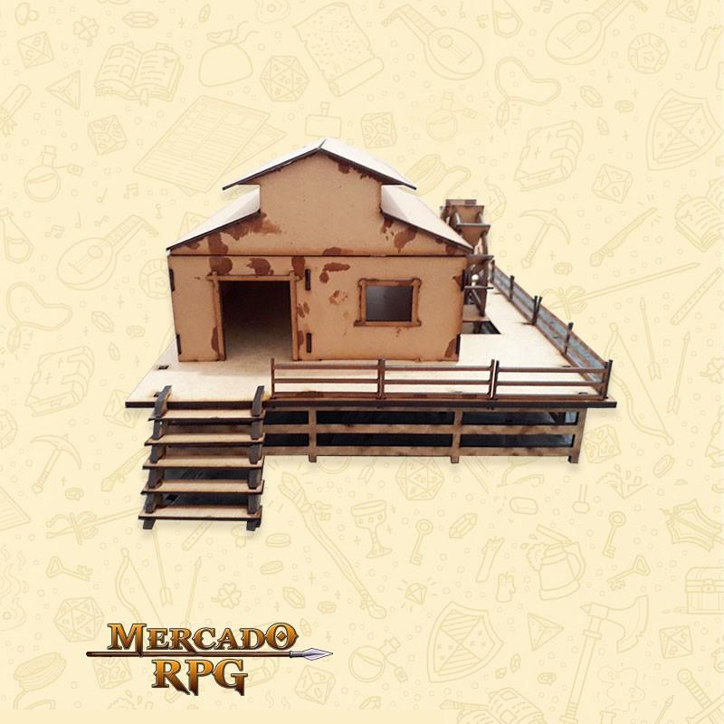 Moinho - Cenários MDF - RPG