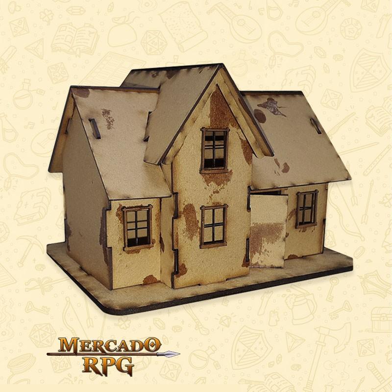 Casa Sobrado - Cenários MDF - RPG