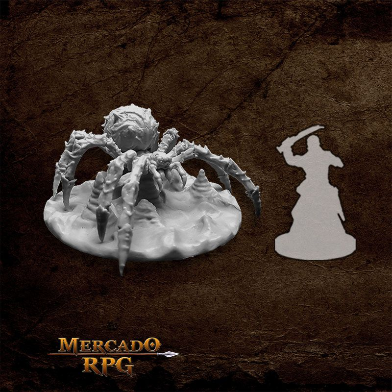 Cave Spider - Miniatura RPG  - Mercado RPG