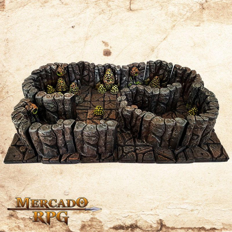 Caverna de Insetos (Modular)  - Mercado RPG