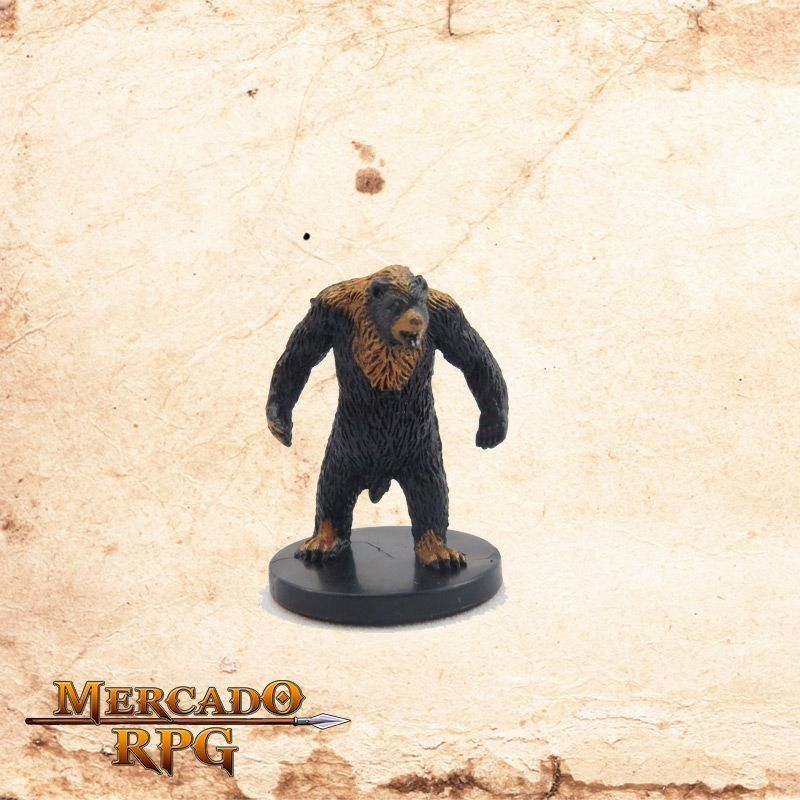 Celestial Black Bear - Sem carta  - Mercado RPG