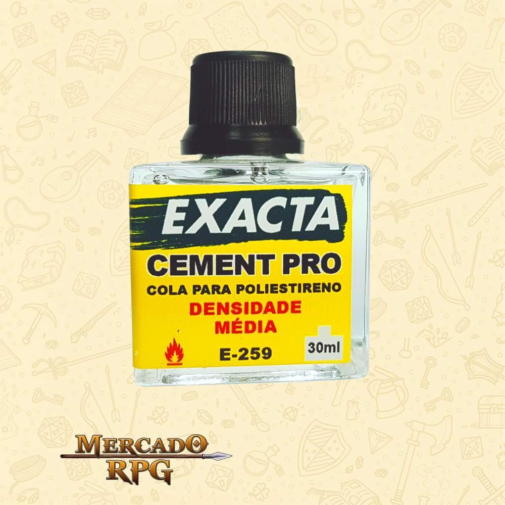 Cement Pro - Cola para Poliestireno 30ml - Densidade Média - RPG