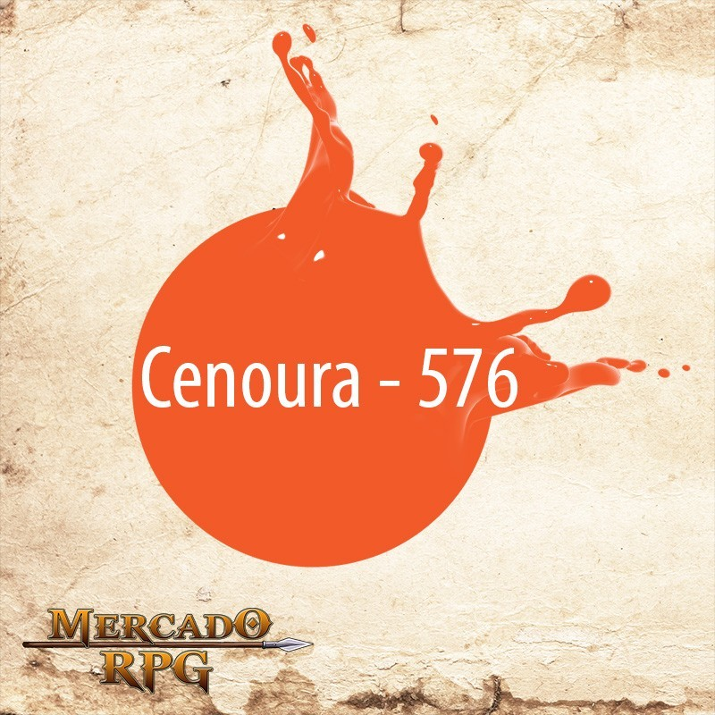 Cenoura 576 - Tinta Acrílica Fosca Nature Colors 60ml - Acrilex - RPG