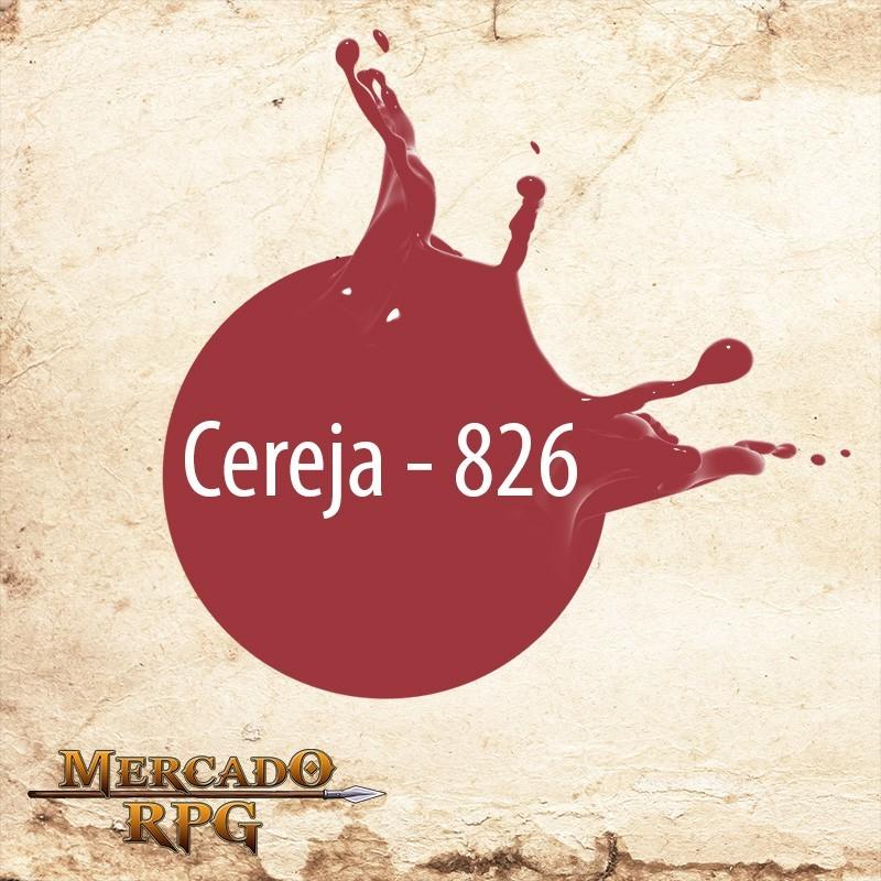 Cereja 826 - Tinta Acrílica Fosca Nature Colors 60ml - Acrilex - RPG