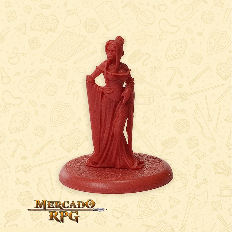 Cersei Lannister - Song of Ice and Fire- Miniatura RPG