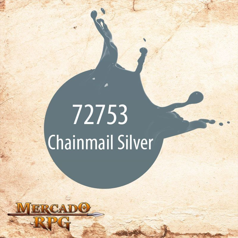 Chainmail Silver 72.753  - Mercado RPG