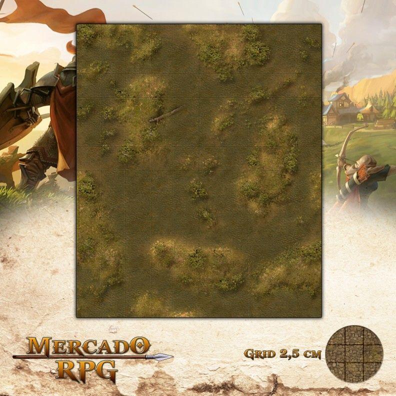 Charcos25x30 Grid de Batalha - RPG Battle Grid D&D