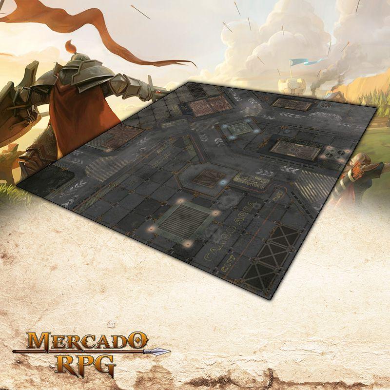 Cidade Futurista A (120x120) - Battle Grid Wargame