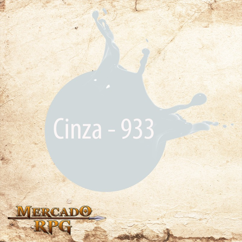 Cinza - 933  - Mercado RPG