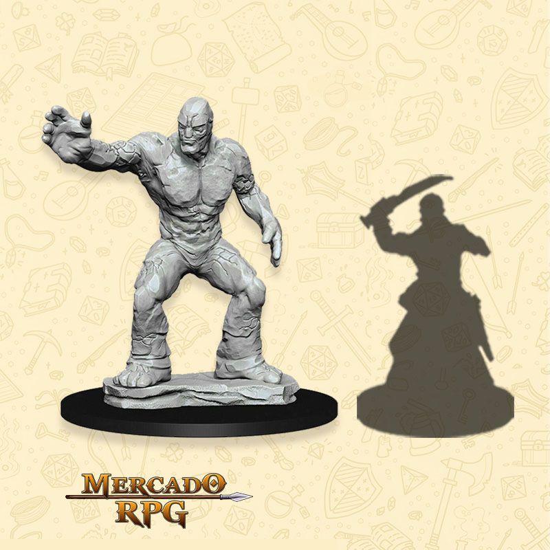 Clay Golem - Miniatura RPG  - Mercado RPG