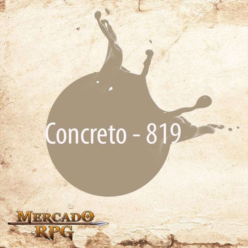 Concreto 819 - Tinta Acrílica Fosca Nature Colors 60ml - Acrilex - RPG