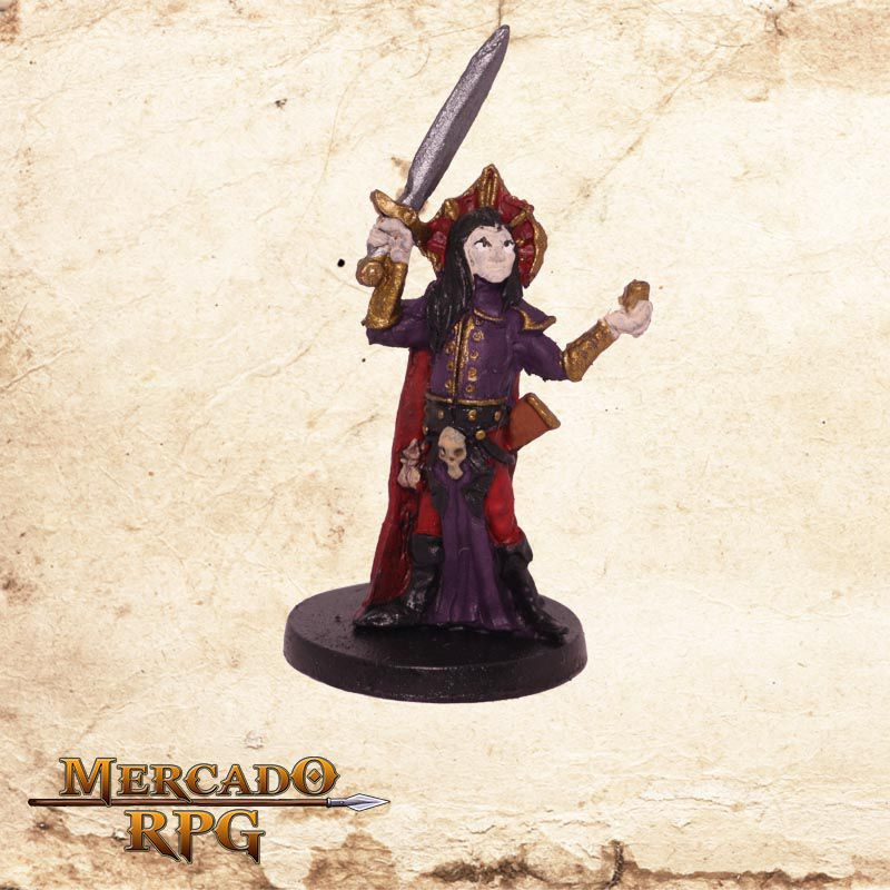 Conde Ruthvern - Miniatura RPG  - Mercado RPG