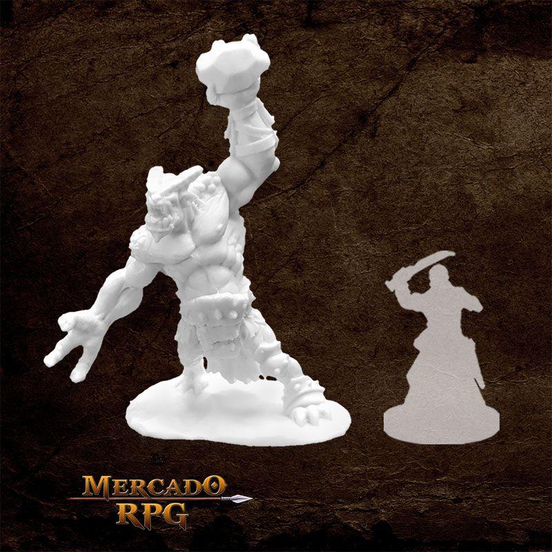 Ice Troll - Miniatura RPG  - Mercado RPG