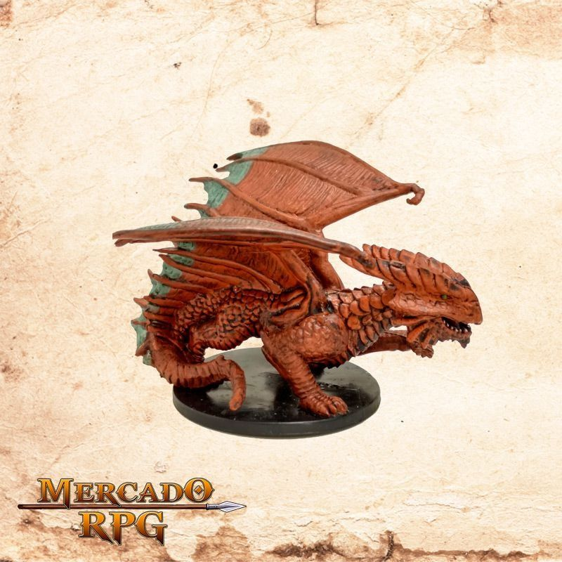 Copper Dragon - Sem Carta  - Mercado RPG