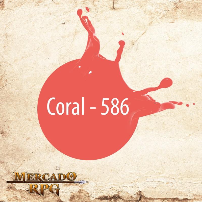 Coral - 586  - Mercado RPG