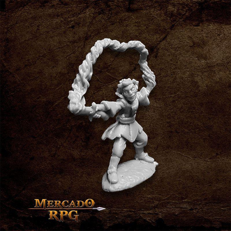 Corim the Kestrel, Gnome Wizard - Miniatura RPG  - Mercado RPG