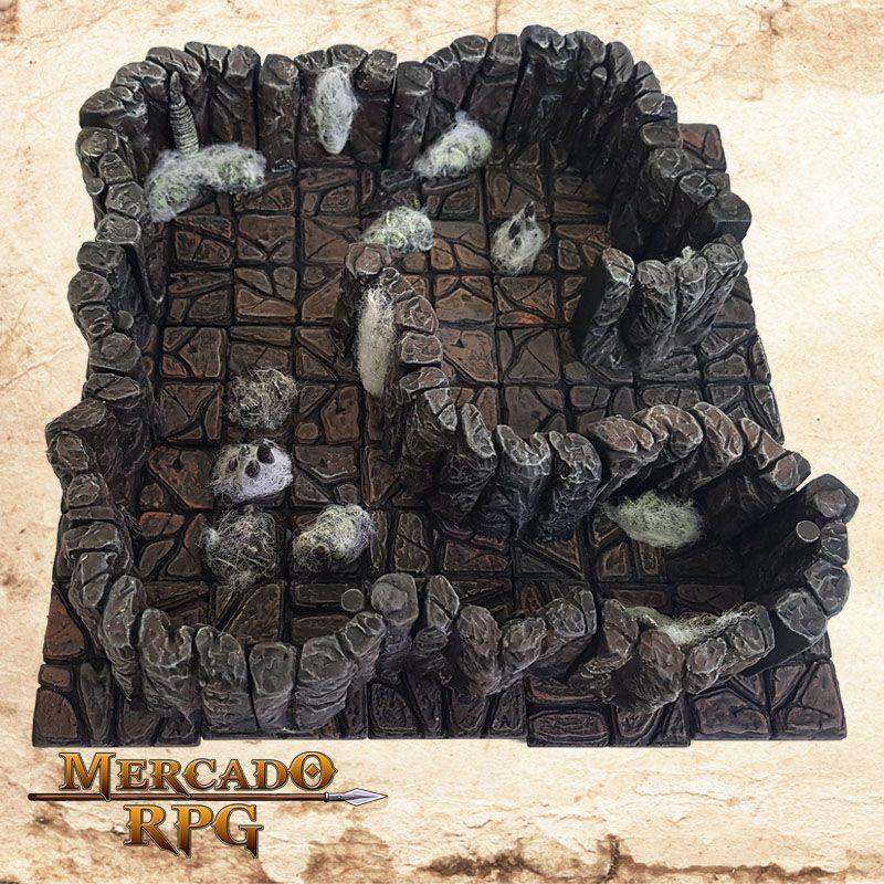 Covil da Aranha (Modular)  - Mercado RPG