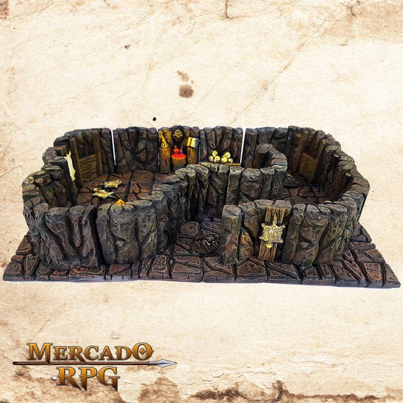 Covil dos Goblinóides (Modular)  - Mercado RPG