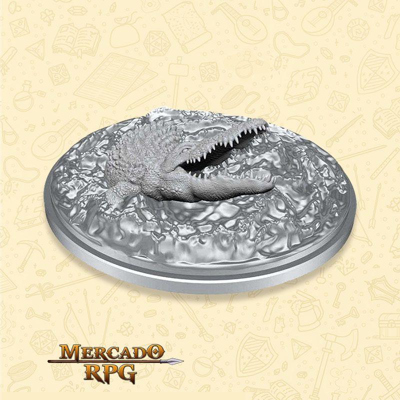 Crocodile - Miniatura RPG  - Mercado RPG