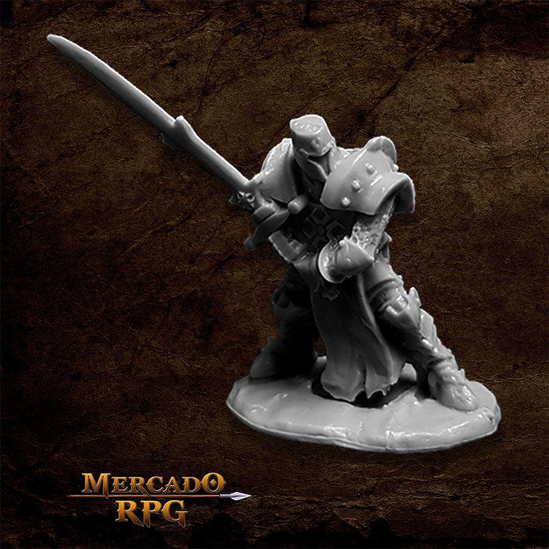Crusader Justifier (Greatsword) - Miniatura RPG