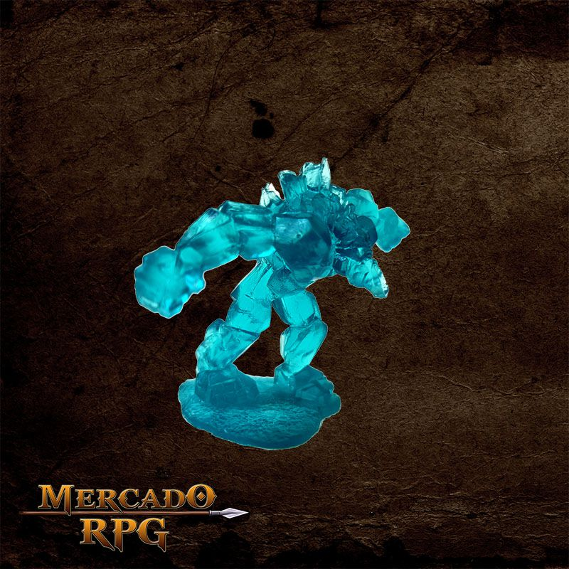 Crystal Golem - Mercado RPG