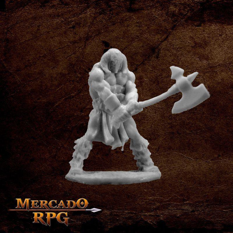 Cuth Wolfson, Barbarian  - Mercado RPG