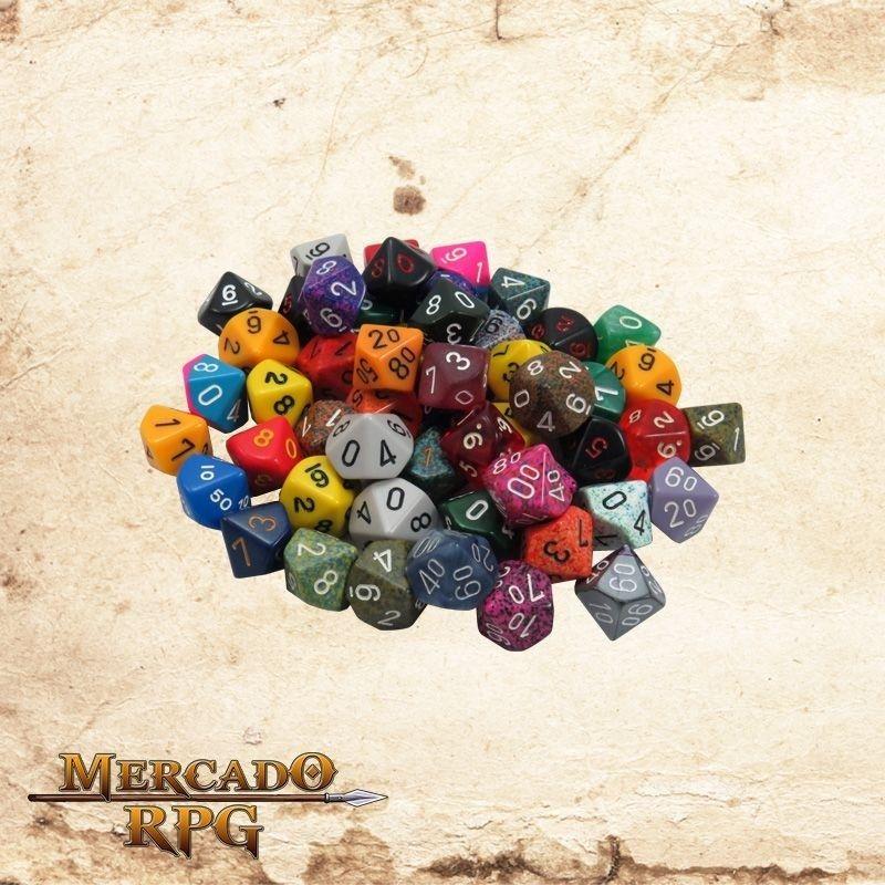 Dado d10 RPG - Conjunto de Dados para RPG 10 lados