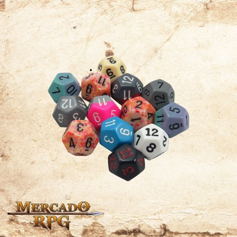 Dado d12  - Mercado RPG