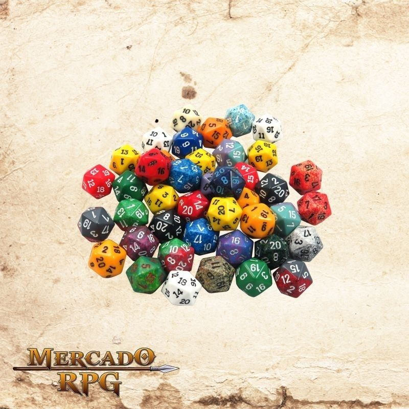 Dado d20  - Mercado RPG