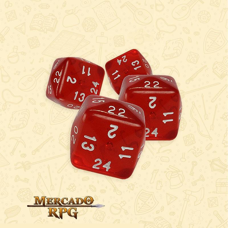 Dado d24 RPG  - Mercado RPG