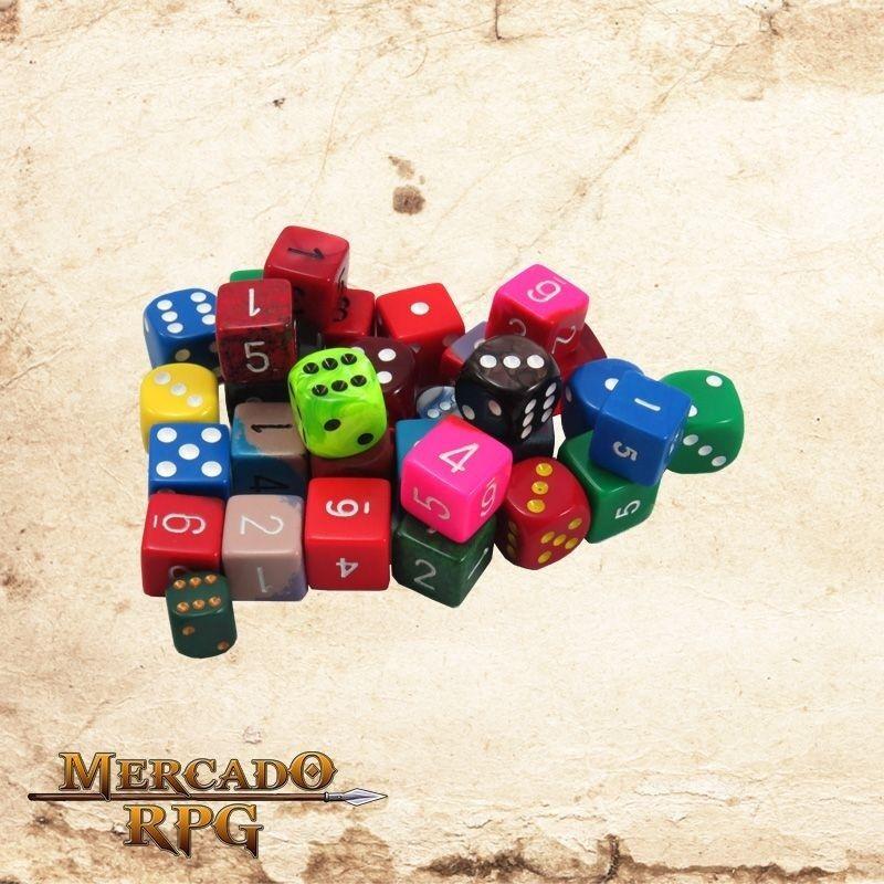 Dado para RPG de 6 lados - d6