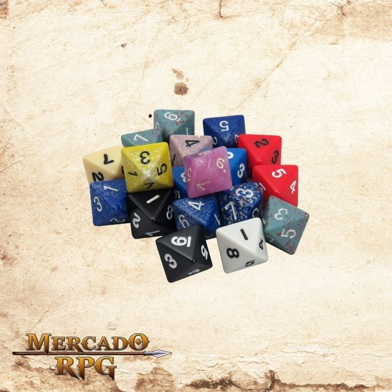 Dado d8  - Mercado RPG