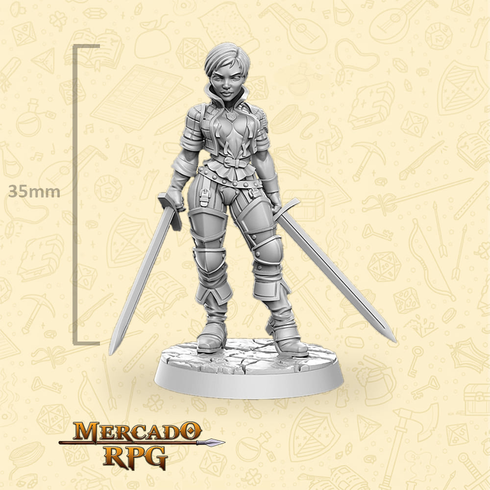Ves - The Witcher - Miniatura - RPG