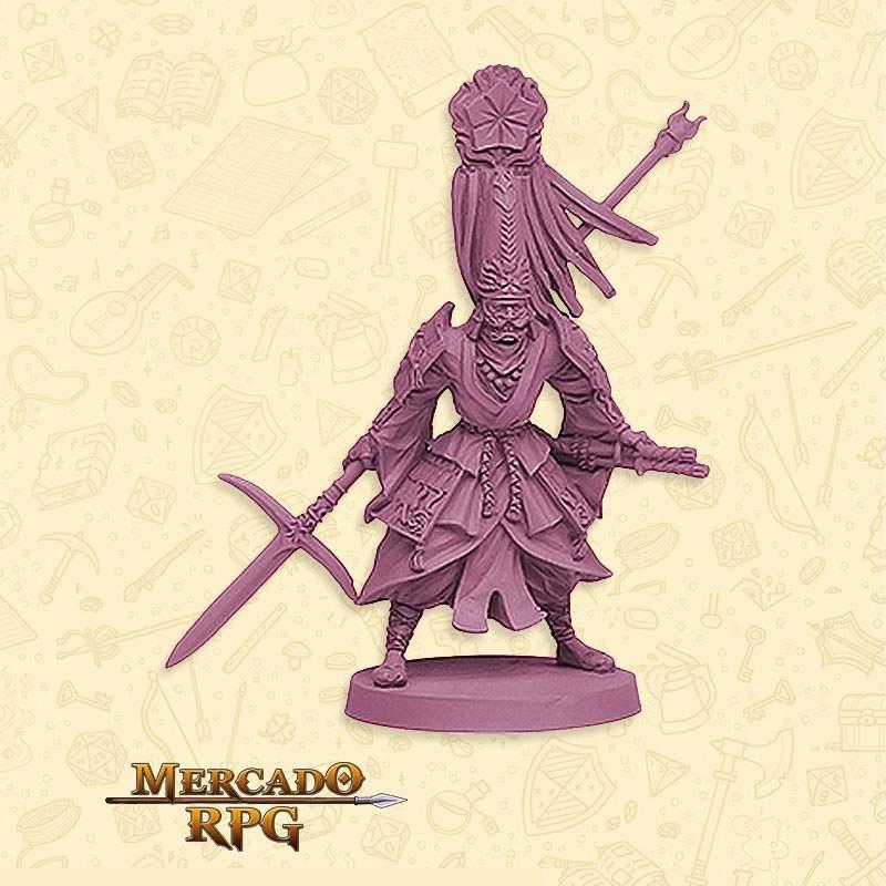 Daimyo Clã Lótus - Miniatura RPG