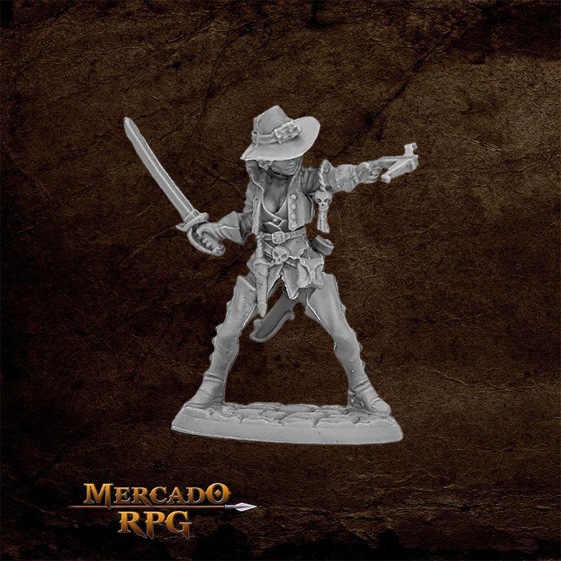 Damaris, Duskwarden Heroine  - Miniatura RPG