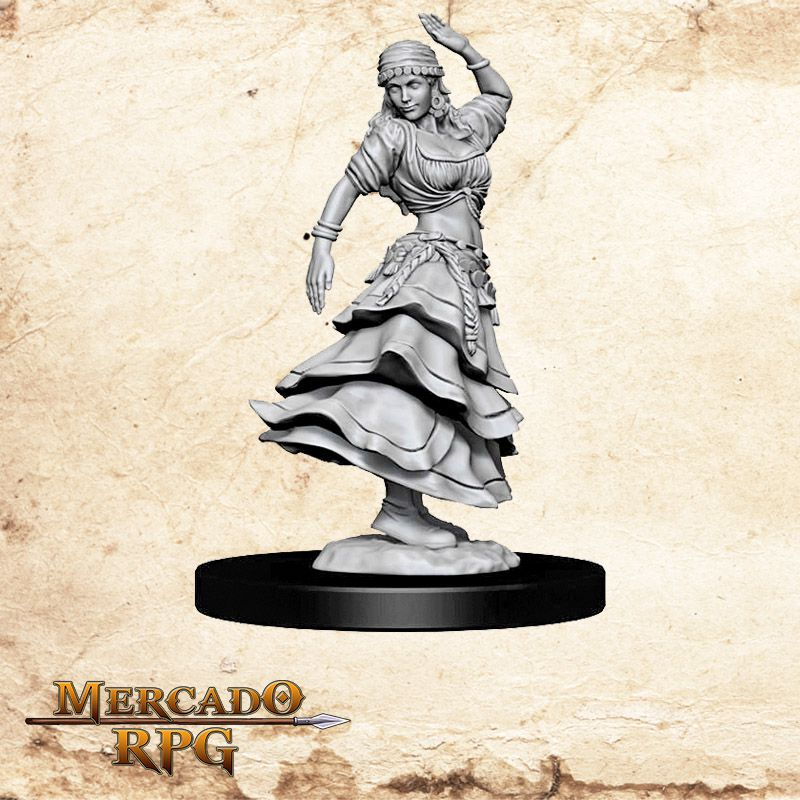 Dancing Girl A - Miniatura RPG  - Mercado RPG