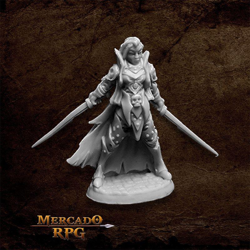 Dark Elf Elite - Miniatura RPG  - Mercado RPG