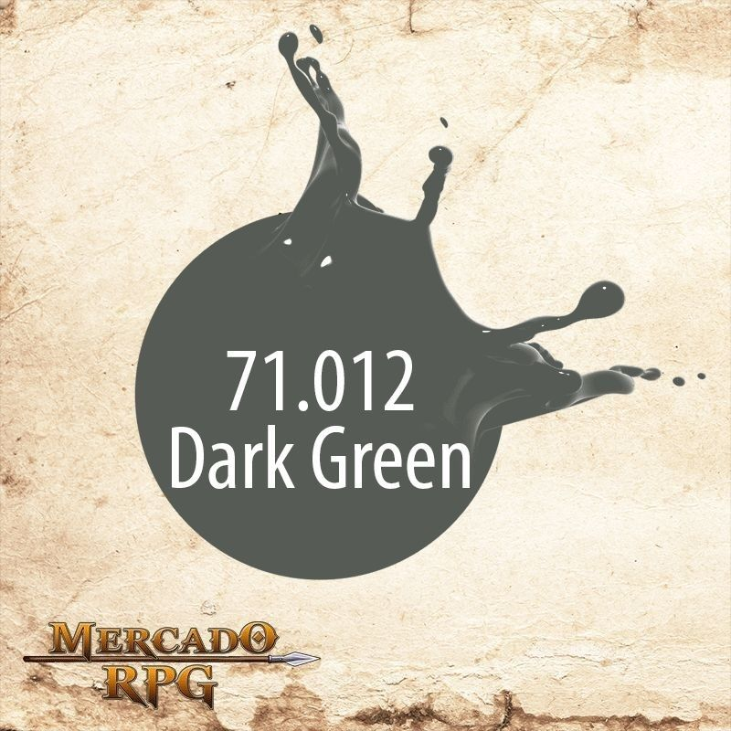 Dark Green 71.012  - Mercado RPG