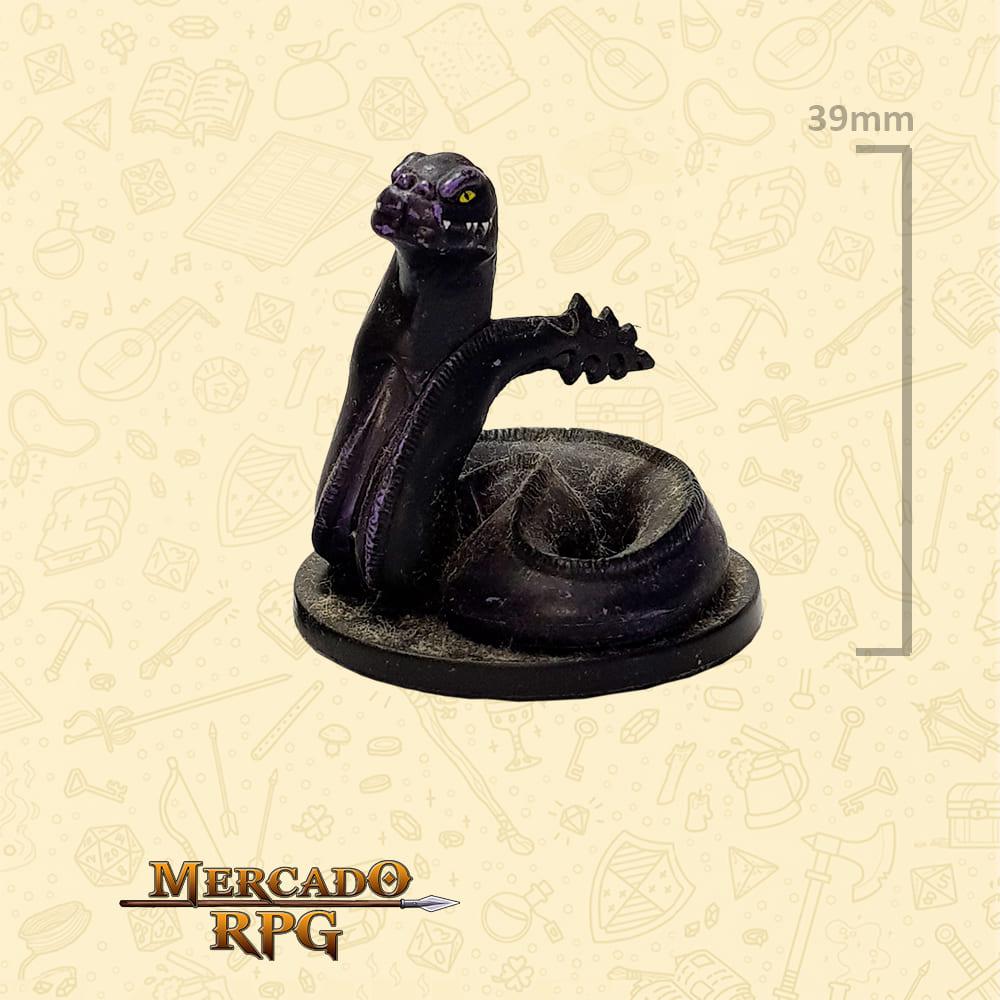 Dark Naga - Miniatura D&D - RPG